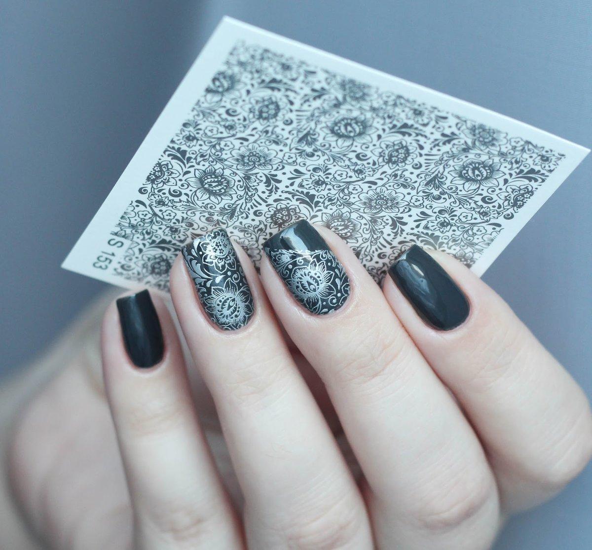 Красивый Рисунок На Ногтях Пошаговое