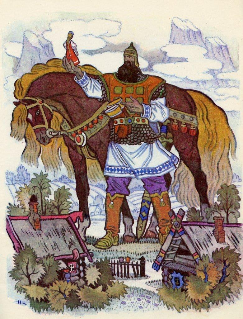 Русские былинные герои в картинках