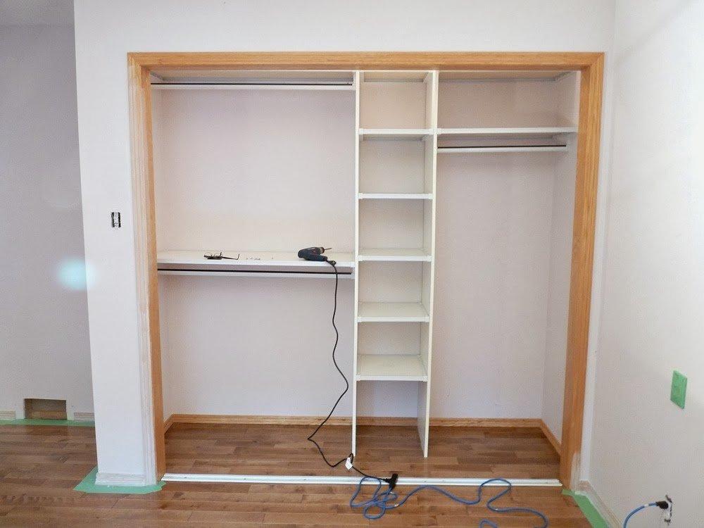 Встроенный шкаф своими руками картинки
