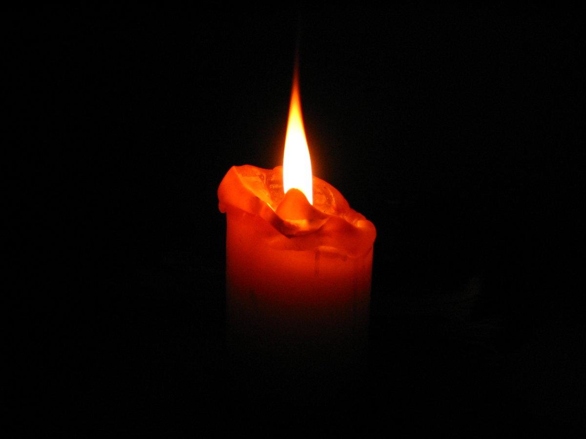 картинка свеча горящая ночью служанки хитрово