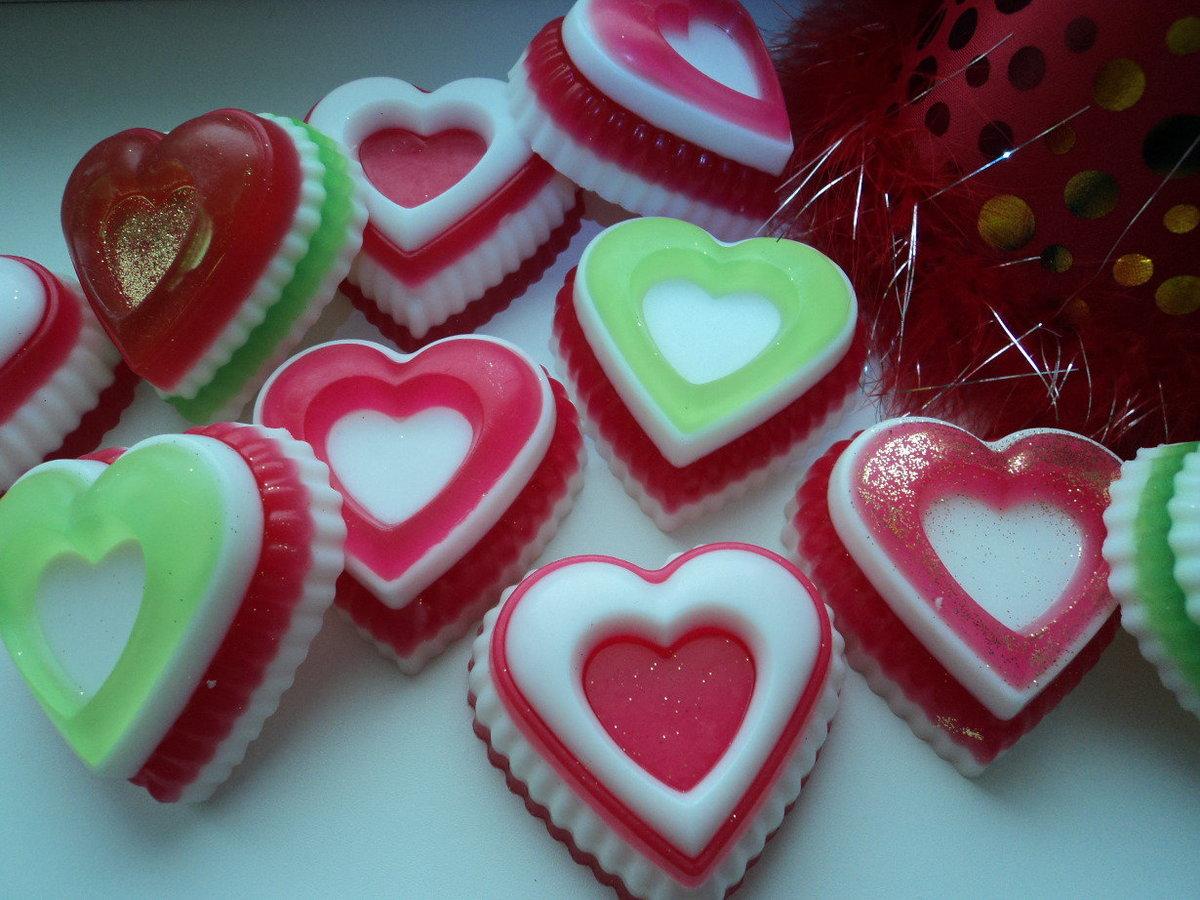 Мыло сердце фото