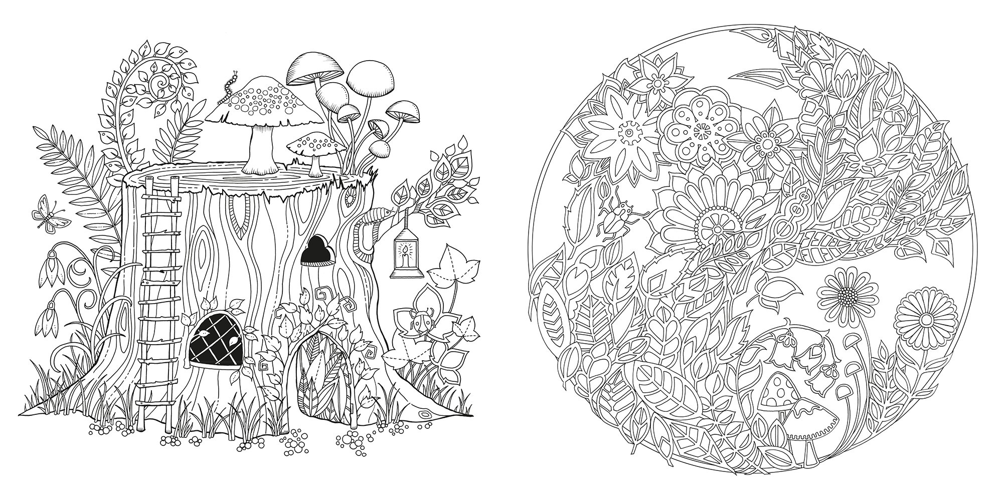 The Secret Garden Coloring Book Coloring Pages Card From User
