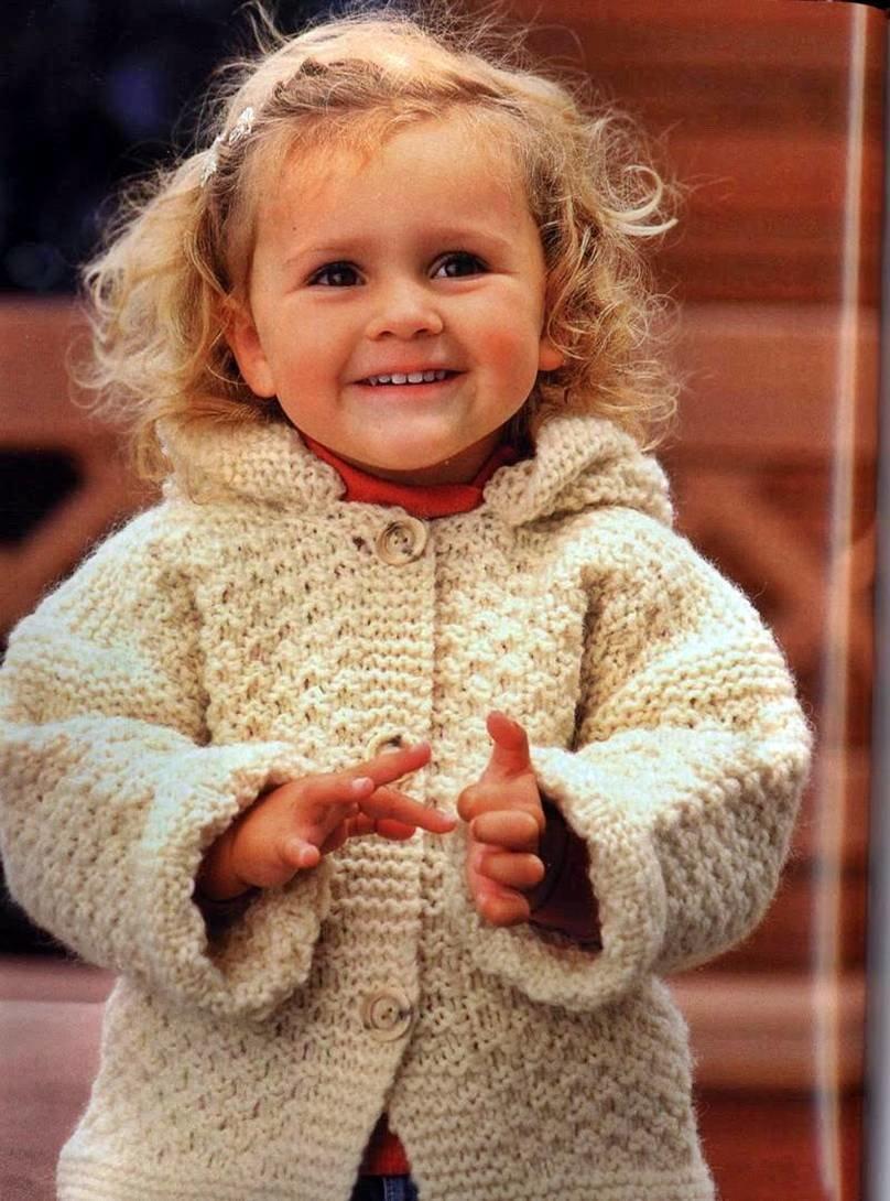 Красивое вязание для детей