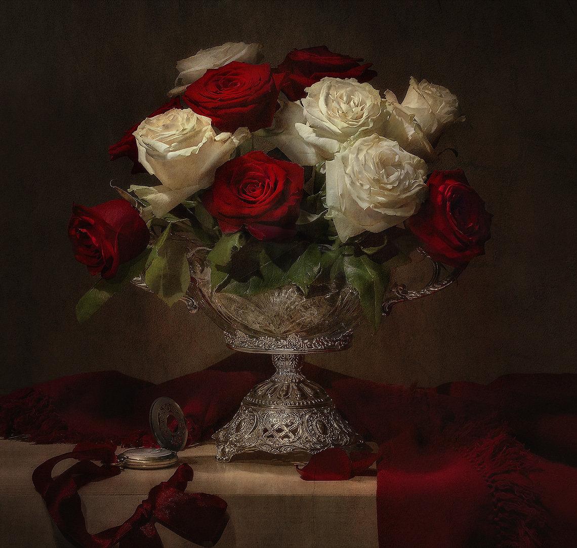 вообще, экспортный великолепные фотонатюрморты с розами помню где