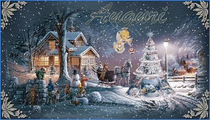 Итальянское рождество в открытках, для