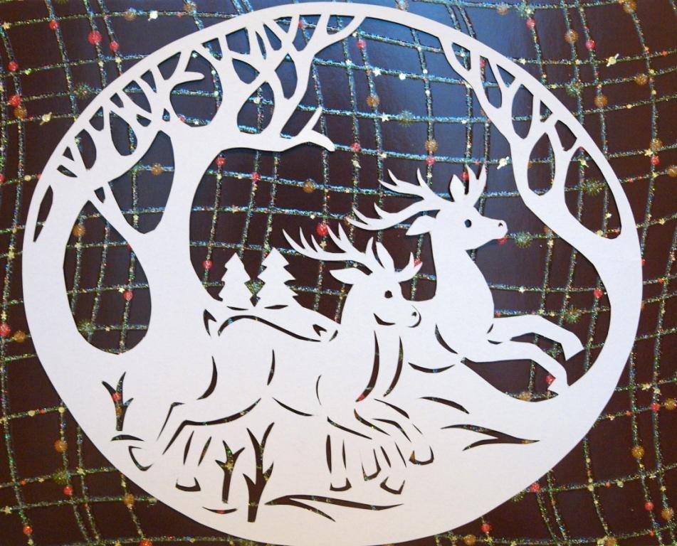 цепляют бабы картинки на стекло новый год обработать деревянный