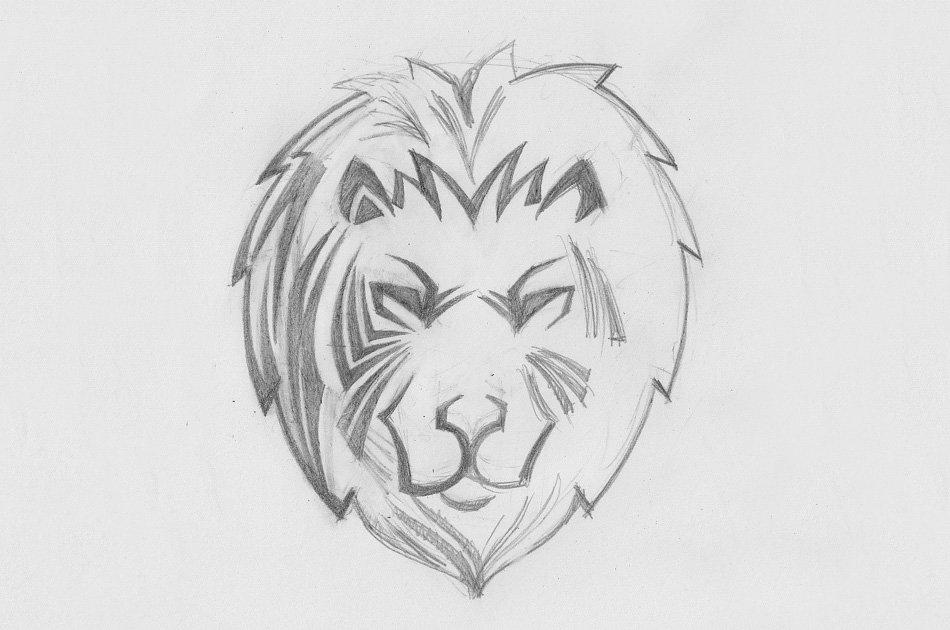 картинка льва рисунок легкие моя, только