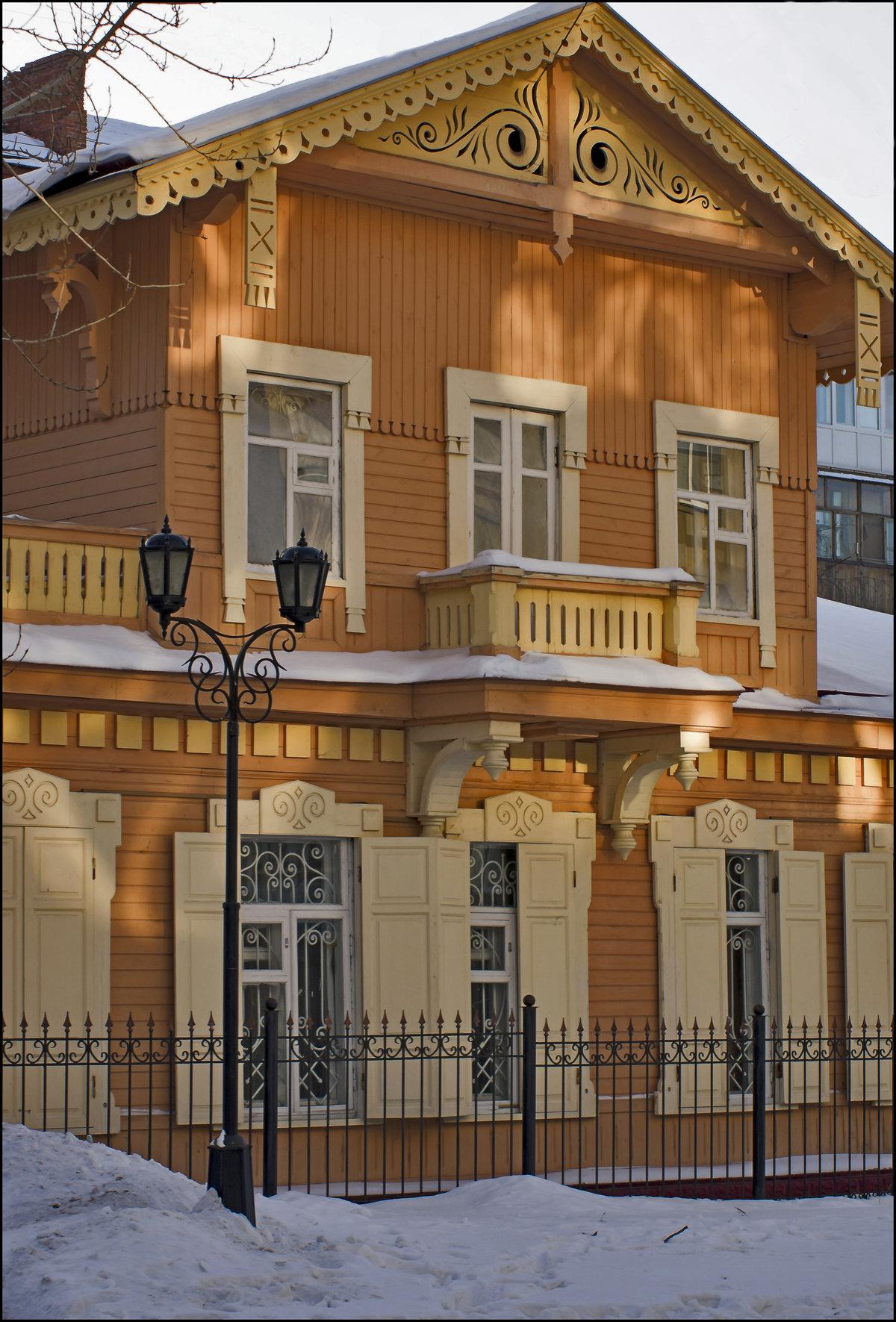 Дома архитектора тарасова фото тебе желаю