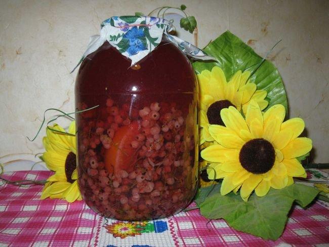 консервация компот из смородины всех типов