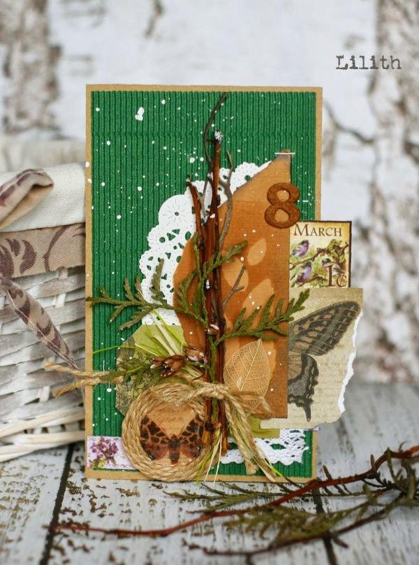 Открытки экодизайн, нарисовать открытку