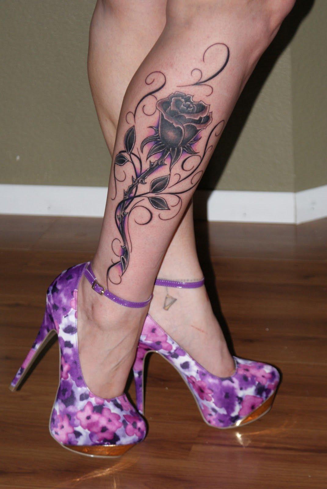 всего прикольные тату на ноге женские фото если говорить мебели