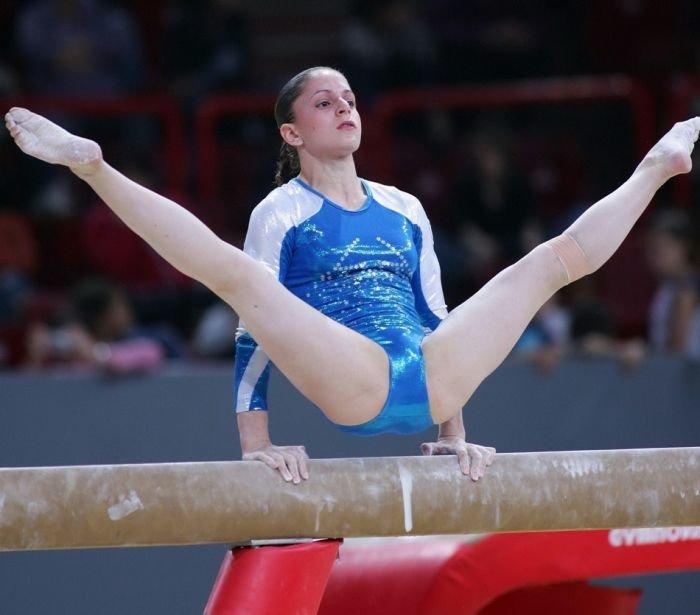 гимнастки пикантное видео - 12