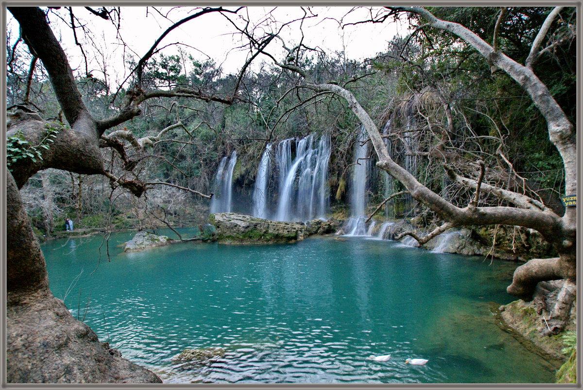 анталия водопад куршунлу фото