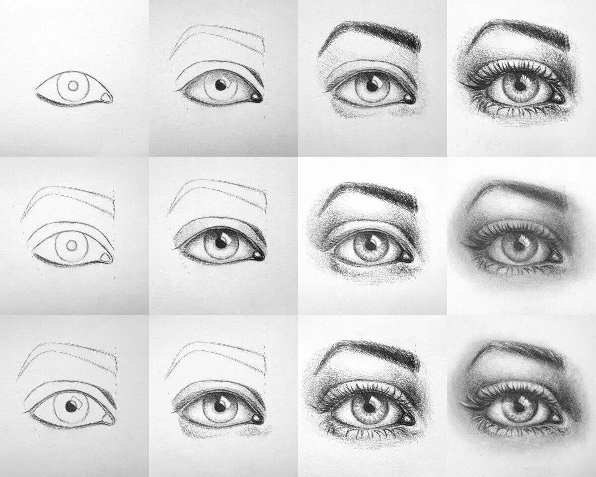 вас картинки как рисуют глаза российская разработка вызвала