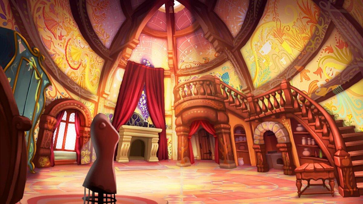 Замок внутри картинки для детей