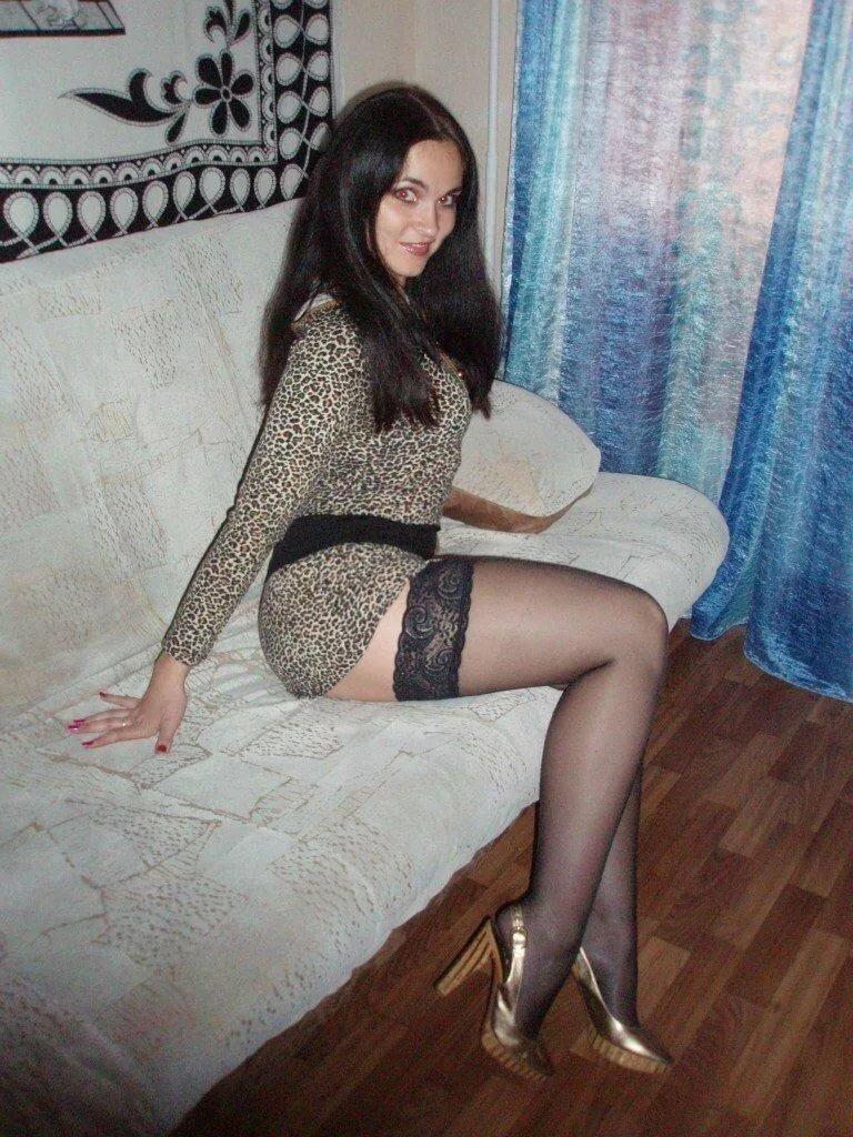 Домашнее фото русских девушек в чулках