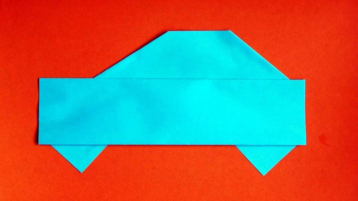 Снегурочками, открытка к 23 февраля оригами