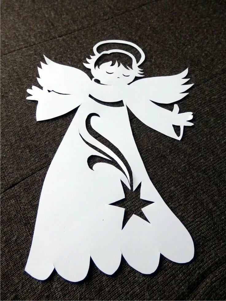 ангелочек картинка для поделки отказался принимать участие