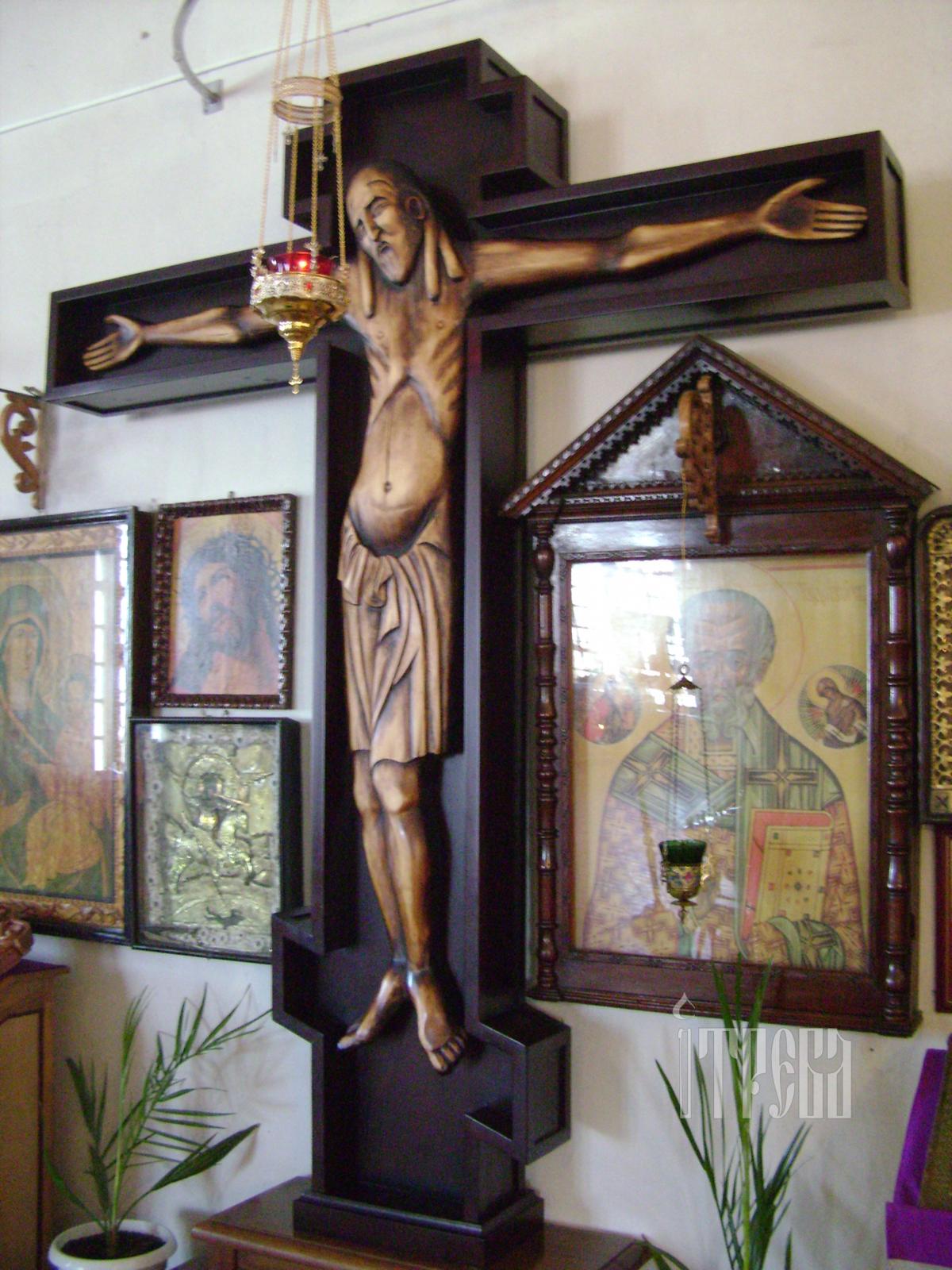 Животворящий крест фото