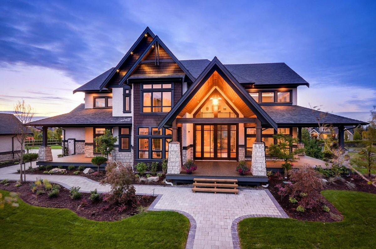 Картинки красивые дома