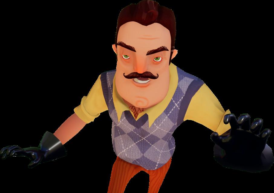 Картинки игры привет сосед персонажа