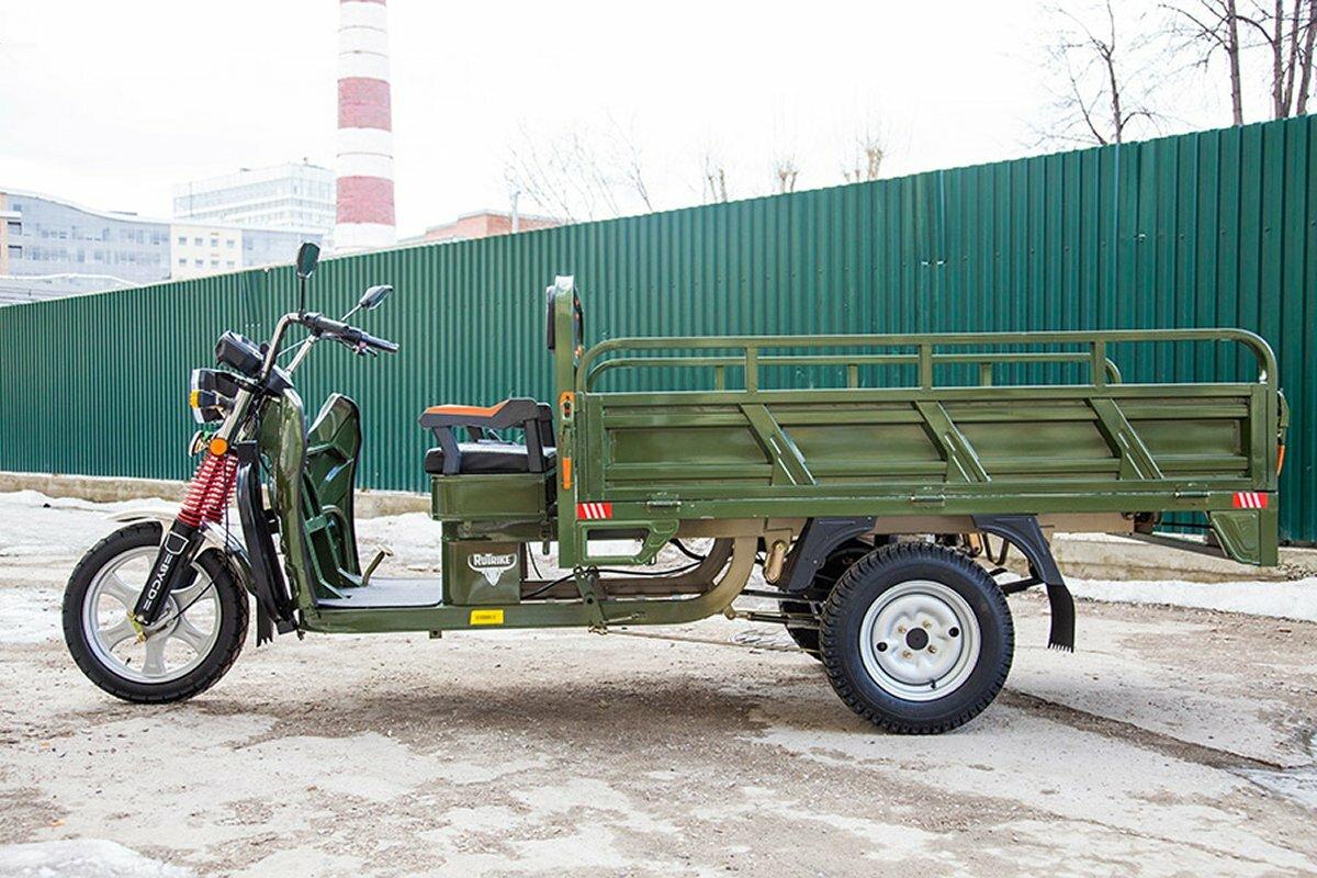 Грузовой электрический мотоцикл RuTrike Алтай 2000
