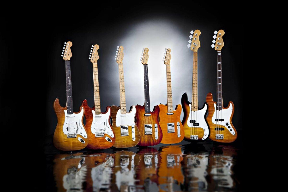 Картинки гитар всех производителей