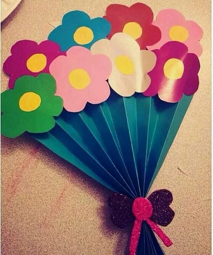 Открытка из цветной бумаги на день рождения маме, картинки курорта