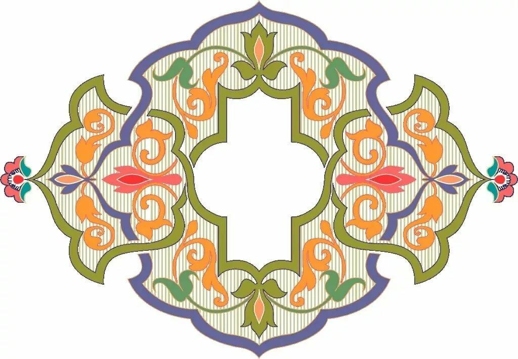 Татарский орнамент открытка