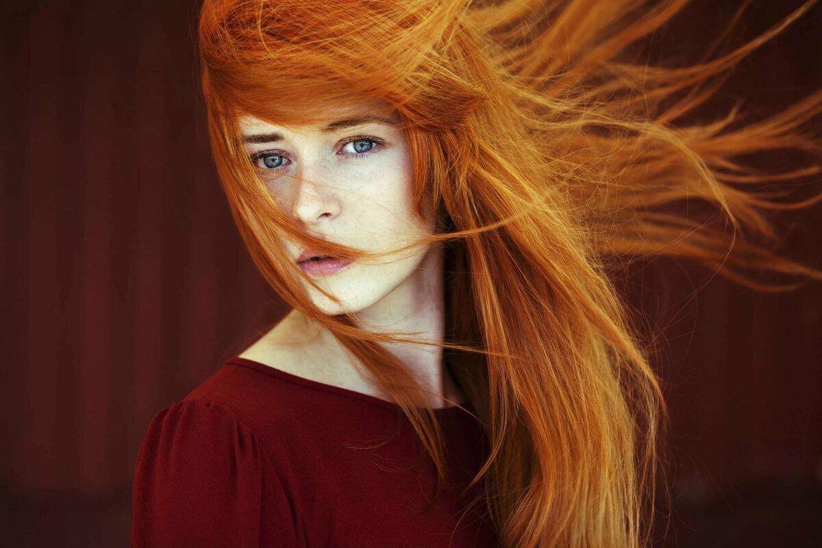 Картинки с рыжими волосами, можно