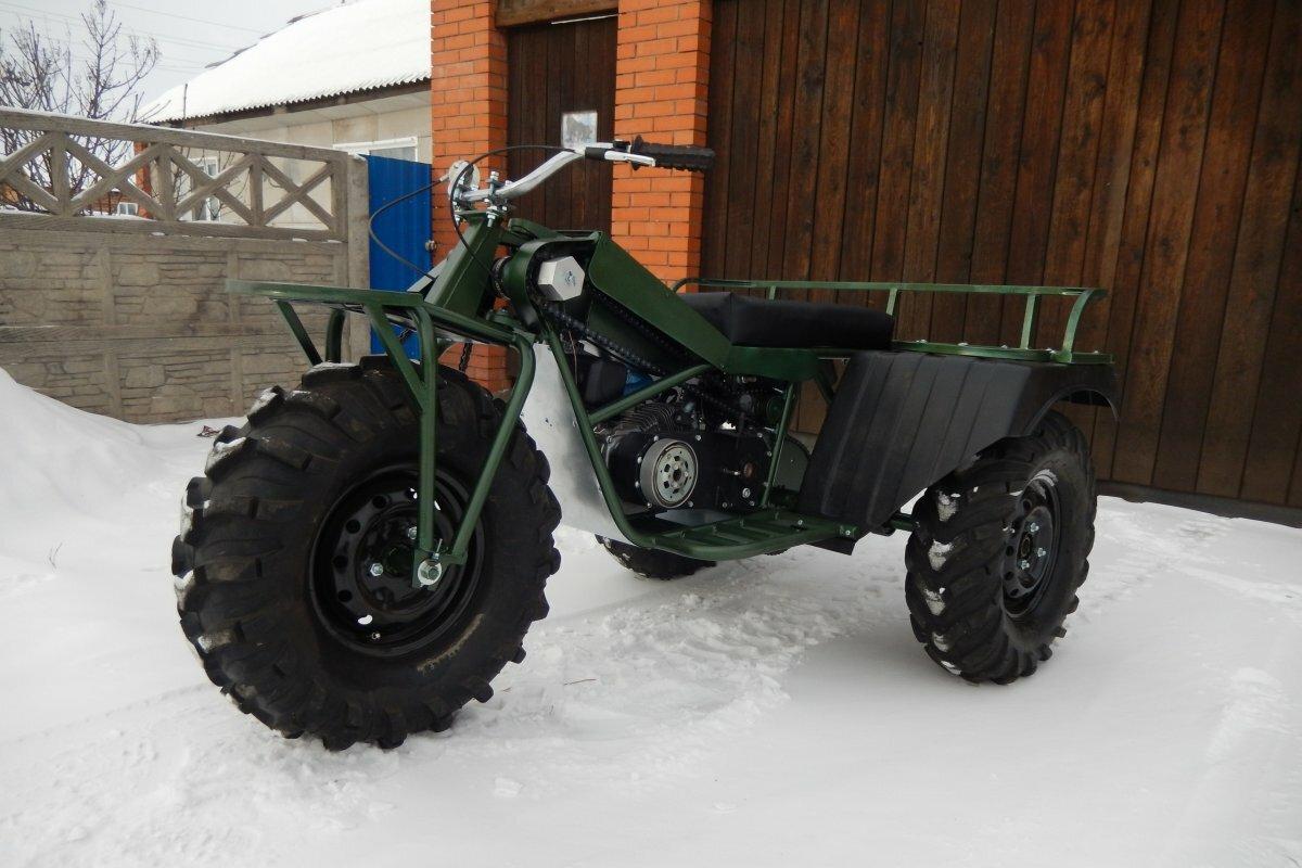 Полноприводный мотовездеход Сибирь 3×3
