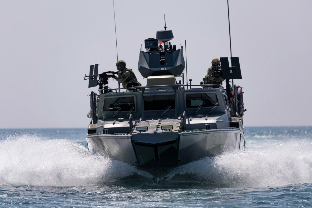 Фото российских военных катеров