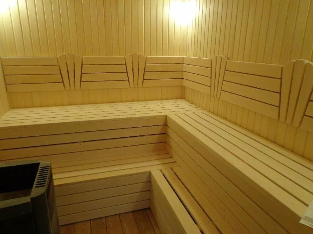 Картинка полок в бане