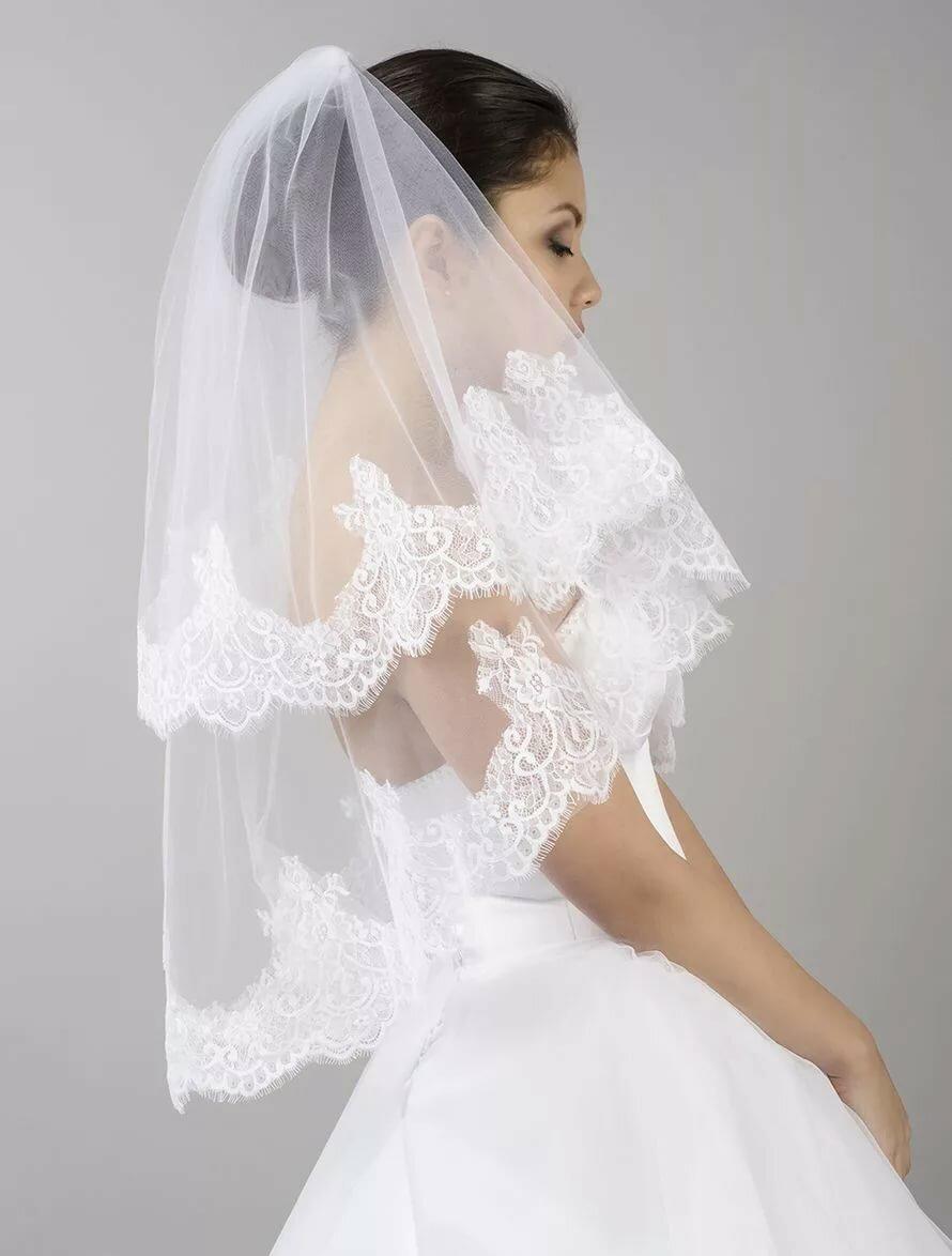 Фата на невесте картинка