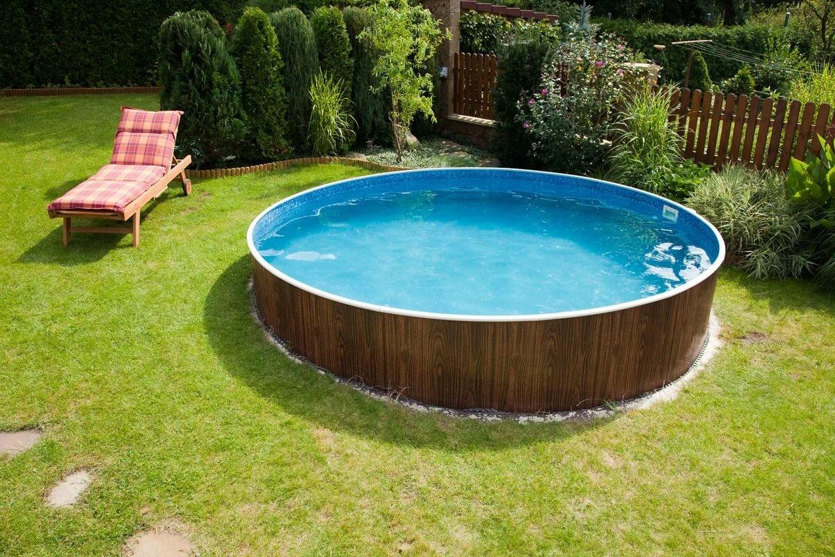 Удобный каркасный бассейн