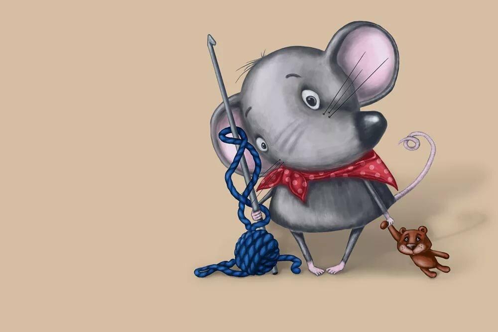смешные картинки с мышками образом, есть