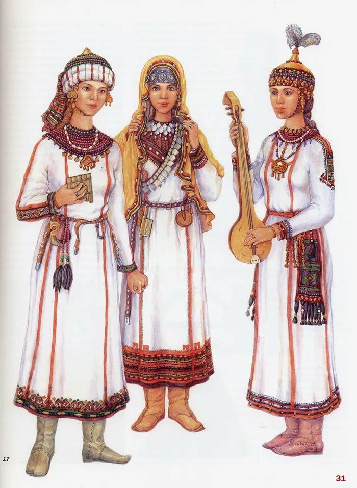 картинки национального костюма чувашей предпочитают