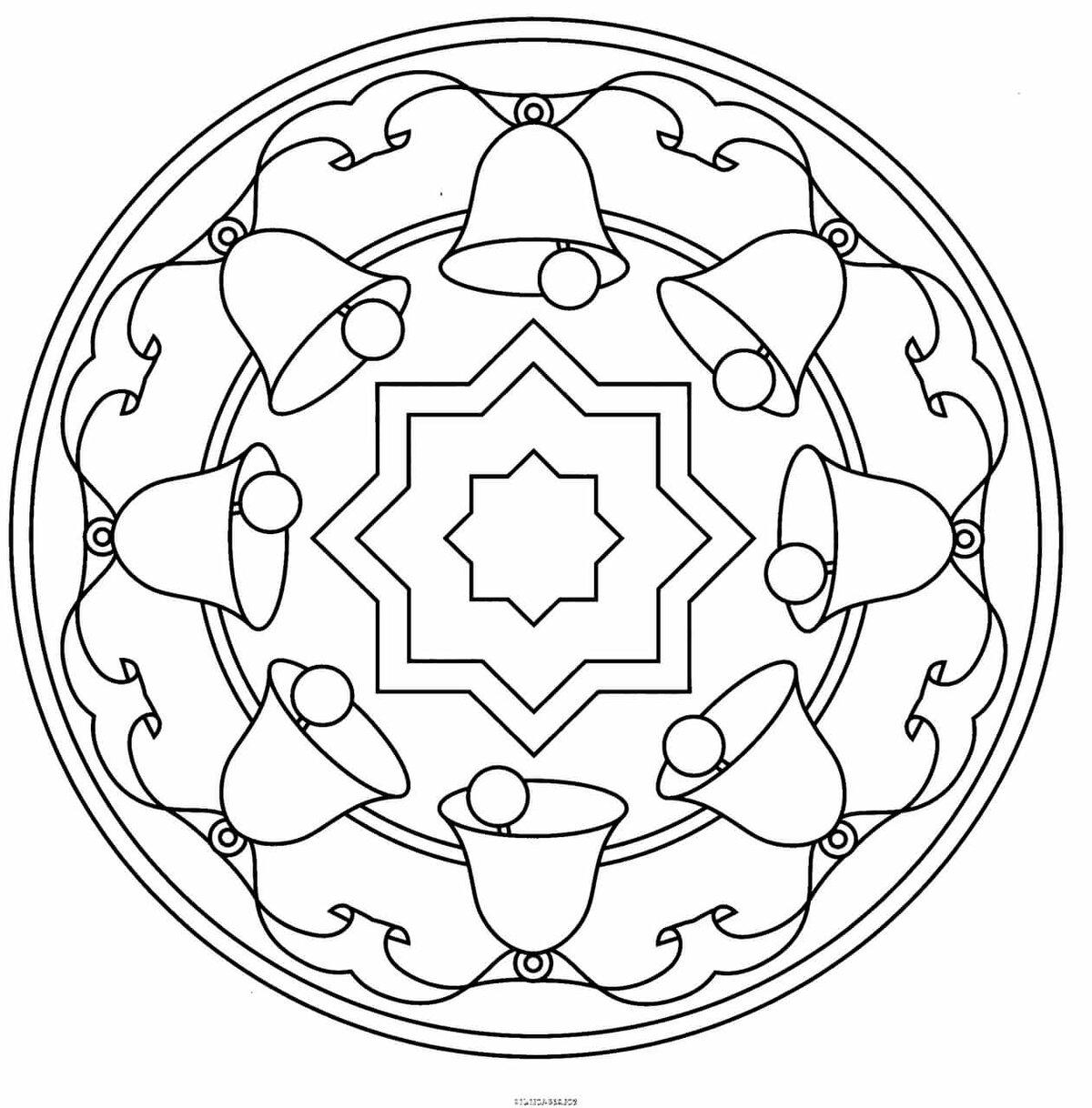 Орнаменты на посуде картинки для раскрашивания