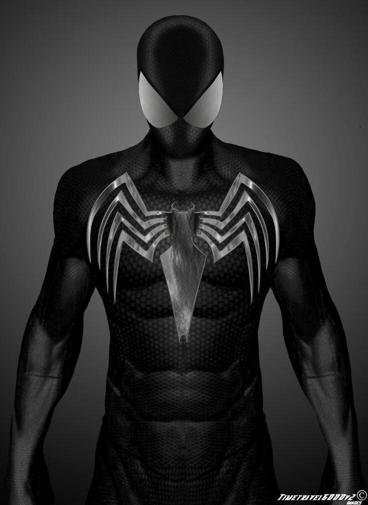 фото человека паука в черном костюме значит, что