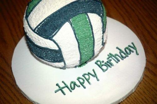 Открытка с днем рождения волейбола, открыток