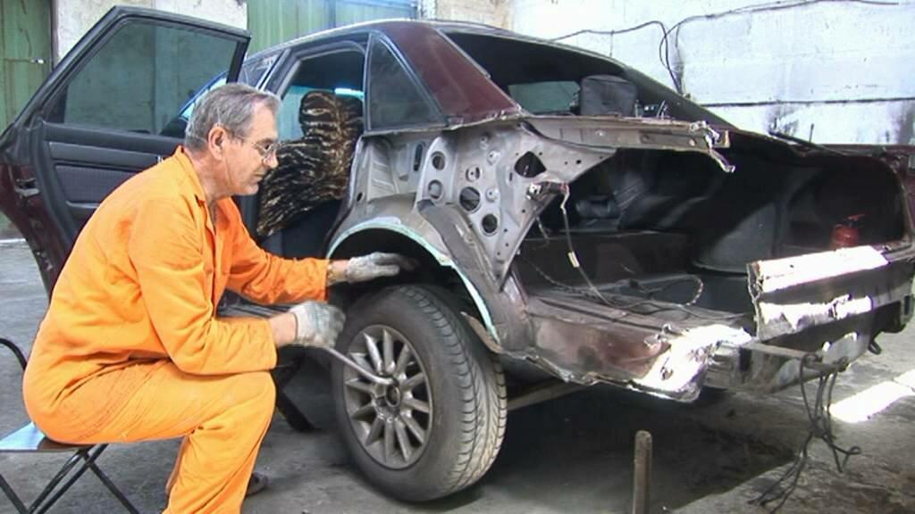 Ремонт битых авто своими руками видео гиганты
