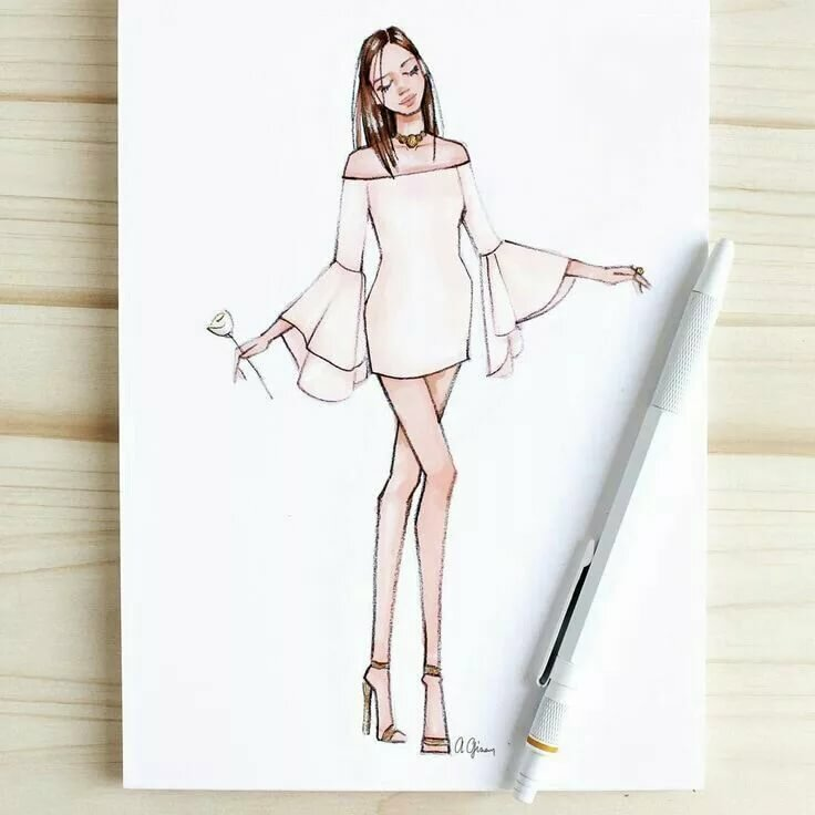 Картинки моделей для срисовки карандашом, марта открытки