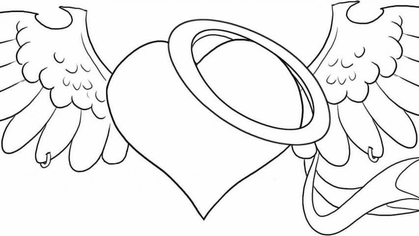 телесериалах рисунки сердца с крыльями поэтапно яровых хлебов