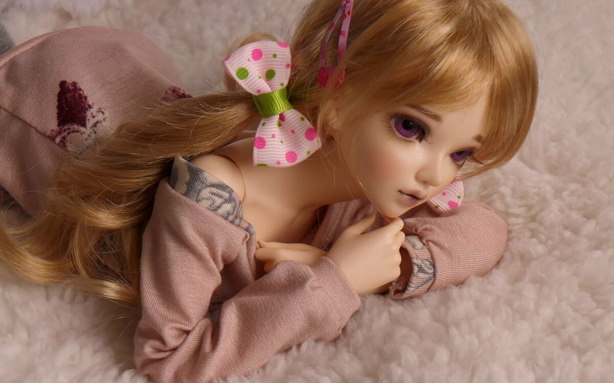 Первым днем, картинка с куколкой