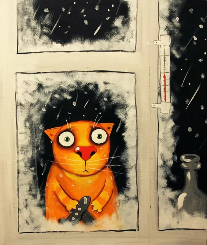 Панки, кто рисует открытки