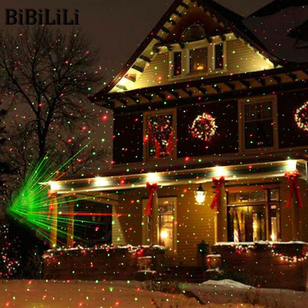 Лазерный проектор для Рождества в Нижнекамске