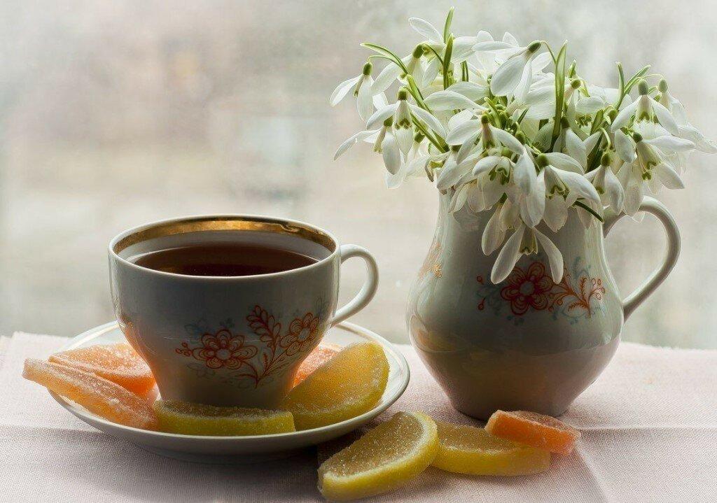 Доброе утро чай картинки красивые, смешные телефон открытки