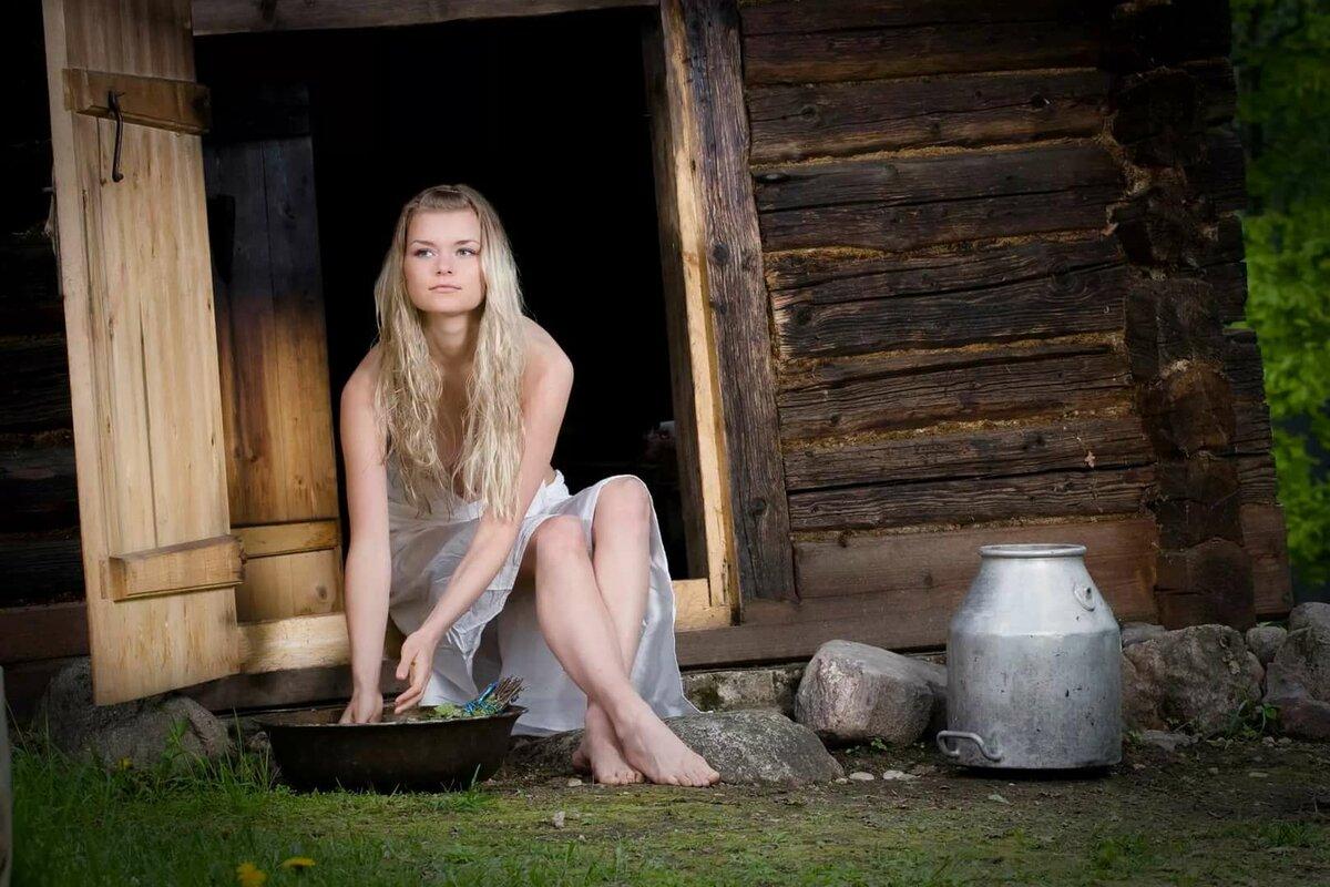 онлайн видео русские бабы в деревне