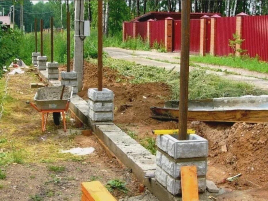 бетон для бетонирования столбов