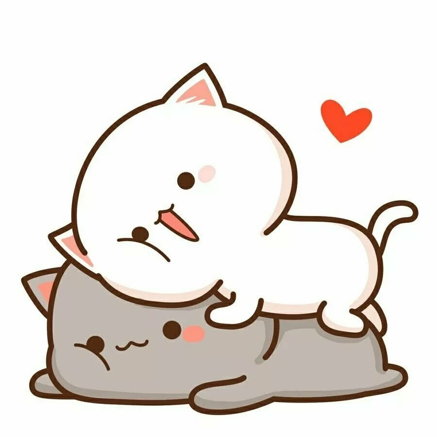 Милашные котики картинки рисунки